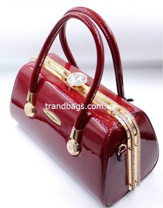 461ce1ee51e4 Женская лакированная сумка K-91748 red купить женскую лакированную сумку - Интернет  магазин