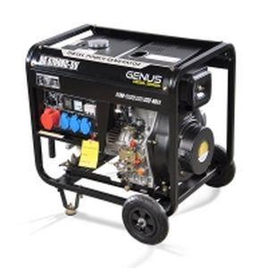 Дизельный генератор Genus DG6700RC-3 (+ATS)/ 6.4 - 6.8 кВт, 220/380 В