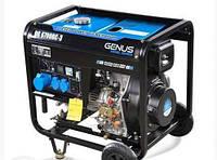 Дизельный генератор Genus DG6700RC (+ATS)/6.2 - 6.8 кВт, электростартер/ручной старт.