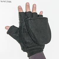 Перчатки митенки для охотников и рыбаков - №18-16-7