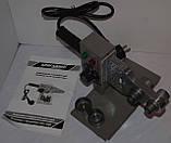 Сварочный паяльник для пластиковых труб БРИГАДИР стандарт (кейс, насадки), фото 5
