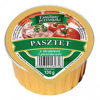 Паштет - Куриный с помидорами 130 г