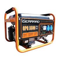 Бензогенератор Gerrard (жерард) GPG 3500/2.5-2.8 кВт (ручной старт, медная обмотка)