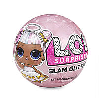 L.O.L. Surprise! Кукла Лол Глэм Глиттер блестящий сюрприз Glam Glitter Series Оригинал!, фото 1