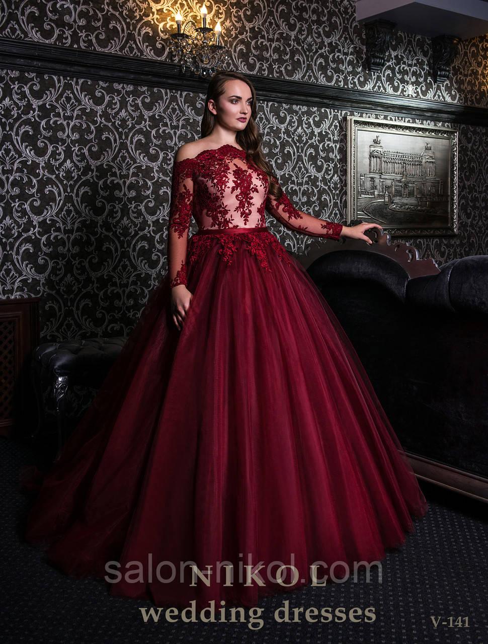 Вечернее, выпускное платье V-141