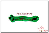 Резинка для подтягивания (лента сопротивления) зеленая FI-3917-g power bands, фото 1