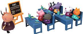 Игровой набор Peppa - ИДЕМ В ШКОЛУ (класс, 5 фигурок), фото 2