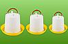 Вакуумные поилки объемом 7,5 литров