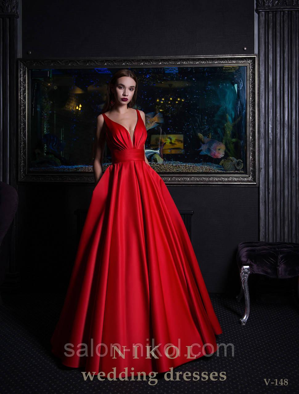 Вечернее, выпускное платье V-148
