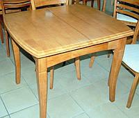 Раздвижной стол деревянный А-13 цвет ольха 900 (+400) х 800 х 750 мм