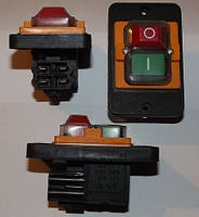 Кнопка двойная к бетономешалке СК-5 10(8)А 250 VAC 5E4 T85 (4 выхода)