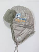 Распродажа!Зимняя шапка ушанка для мальчиков Klimani 46р 50р