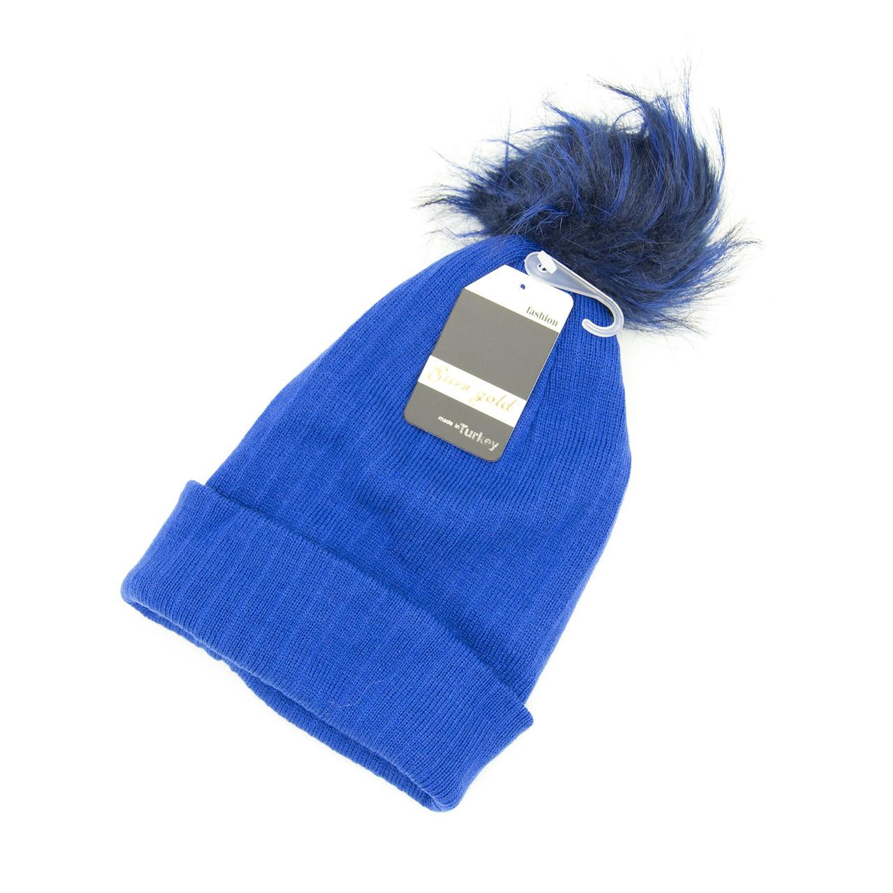 Шапка Унісекс all size Синій