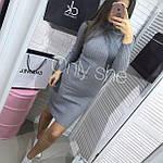 """Платье женское гольф рубчик """"Мустанг"""", фото 4"""
