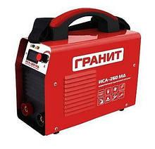 Гранит ИСА-260МД инвертор сварочный (6.7 кВт, цифров. дисплей, небольш. вес)