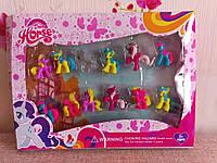 Набор игрушек в коробке Май Литл Пони  ( my Little Pony ),12 шт