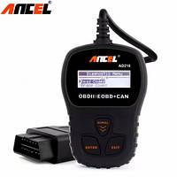 Диагностический сканер для авто OBD-2 EOBD ANCEL AD210