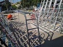 Aluminium 5х4 (без платформы) лестница трансформер до 5.8 метров