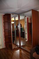 Шкаф купе угловой (3 зеркала) АУ- 13 1500*1800*2400мм