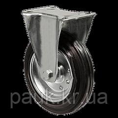 """Колесо 3307-MS-200-R(33 """"Medium Scaffolding"""") Ø 200мм, неповоротное с крепежной панелью"""