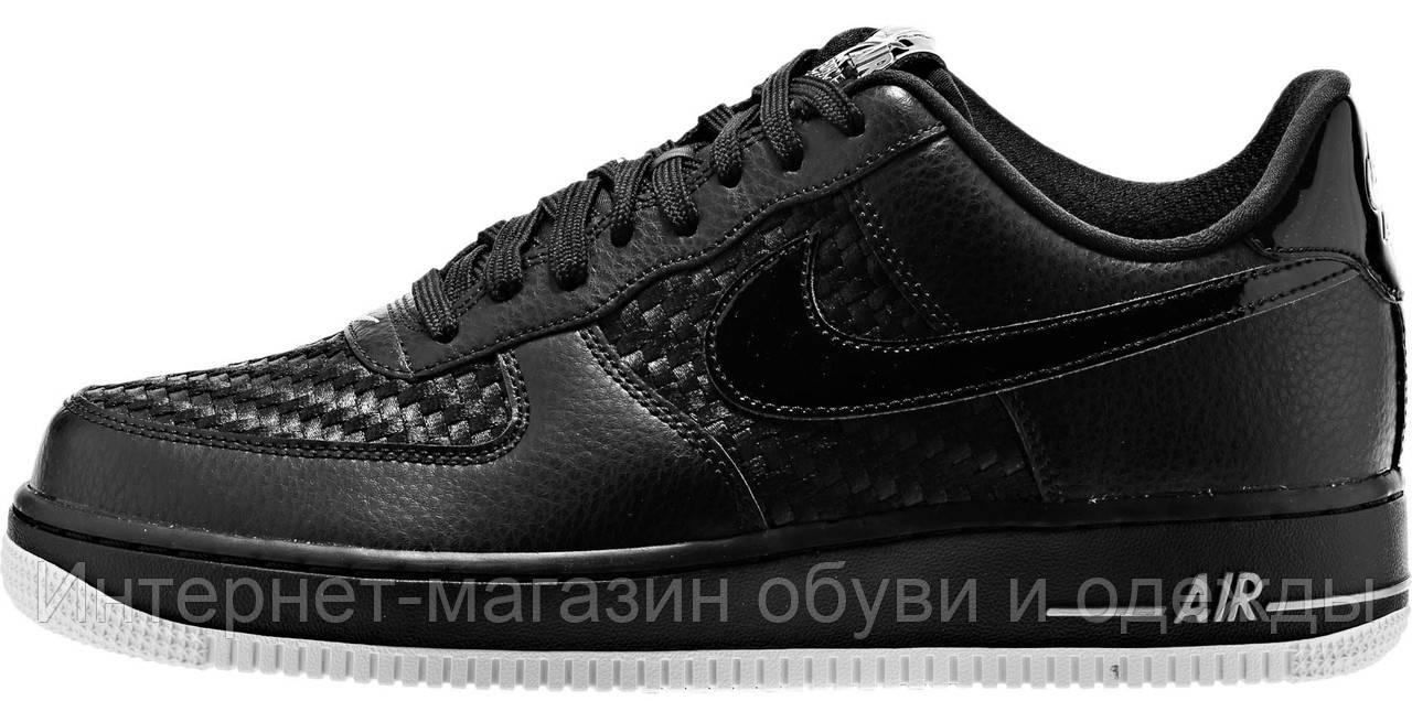 Мужские Кроссовки Nike Air Force 1 Low Найк Аир Форс Черные — в Категории