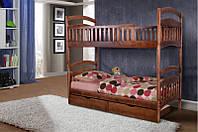 Кровать двухъярусная Кира. Массив дерева.