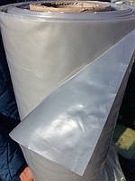 Плівка поліетиленова сіра,товщина 140 мкм, розмір 3мх100м, вага 35 кг