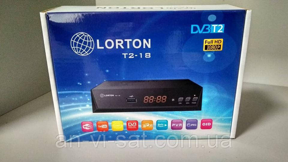 Цифровой  ресивер LORTON T2-18