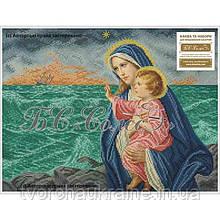 Богородиця з Ісусом (морська). Набір для вишивання бісером