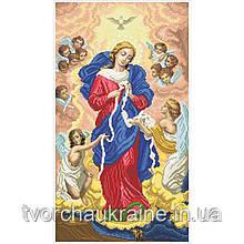 БРВ-В Богородица развязывает узлы (большая) 62х112см. Набор для вышивания бисером