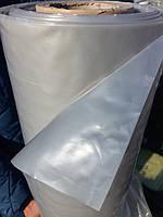 Пленка серая полиэтиленовая,толщина 65 мкм, размер 3мх100м, вес 17 кг, фото 1