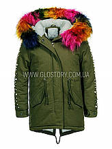 Зимняя парка для девочки GLO-Story, Венгрия