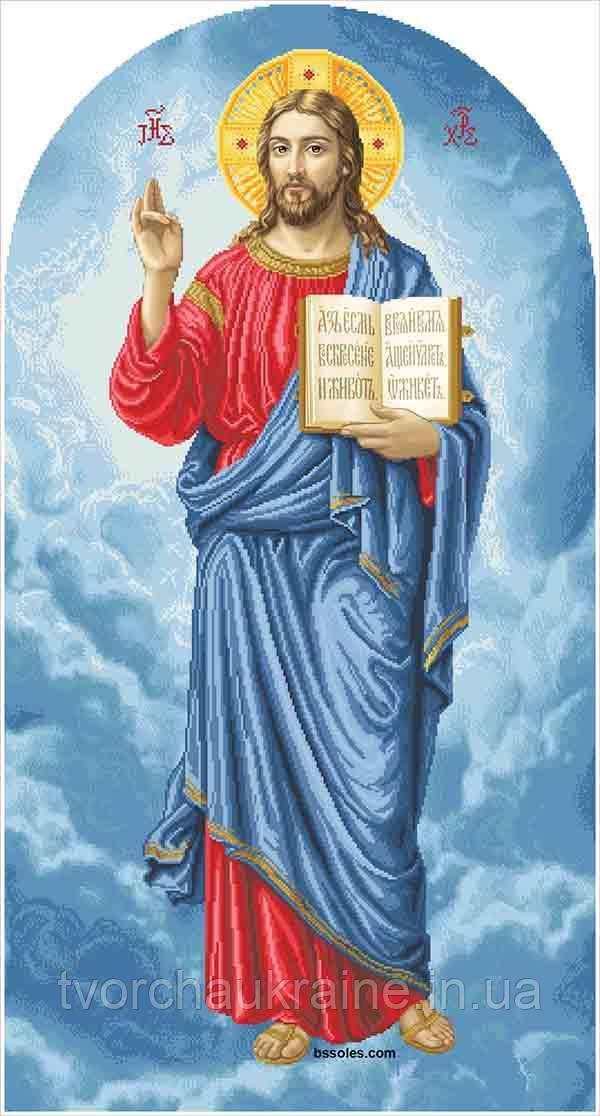 Ісус (намісна), великий. Набір для вишивання бісером
