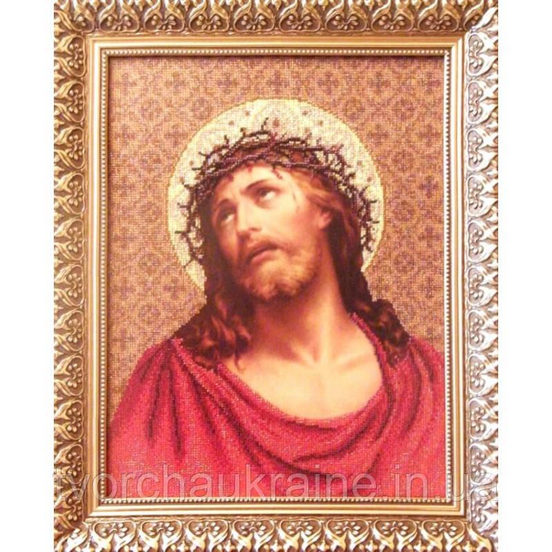 Ісус у терновому вінку. Набір для вишивання бісером