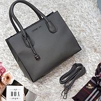 Жіноча середня сумка сіра MK, фото 1