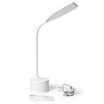 Світлодіодний світильник настільний MAXUS DKL RGB 8W 1-MAX-DKL-001-03 Білий, фото 2