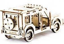 Механический деревянный 3D пазл SUNROZ Автомобиль Mercedes Benz G Class 105 эл. (SUN1740), фото 3