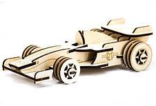 Механический деревянный 3D пазл SUNROZ Формула-1 39 эл. (SUN1744), фото 2