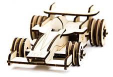 Механический деревянный 3D пазл SUNROZ Формула-1 39 эл. (SUN1744), фото 3