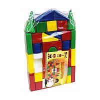 Конструктор  кубики Городок  Л-001   большой