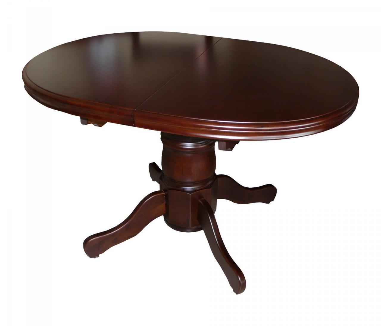 Раздвижной стол А-17, цвет орех