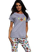 Женская пижама хлопковая 129 Hello Summer от Cornette (Польша) Быстрая  отправка! f431953d21546