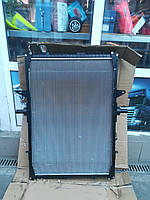 Радиатор с рамкой Рено Магнум Renault Magnum (медный* замена)