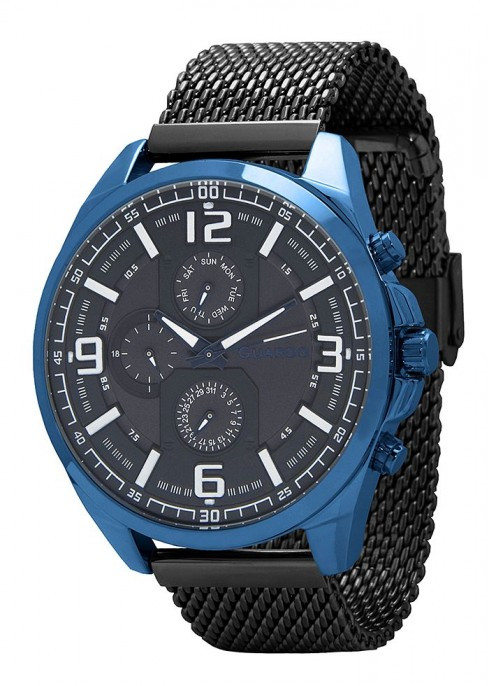 Мужские наручные часы Guardo B01361(m) BlBB
