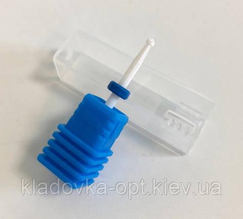 Фреза керамическая «Шарик» синяя (премиум), фото 2