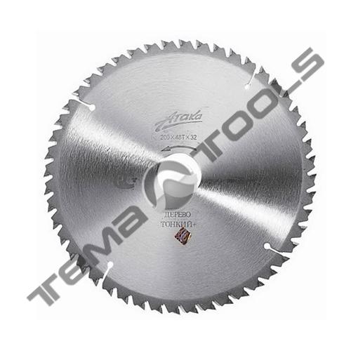 Пильный диск по дереву тонкий+ АТАКА 200х48х32