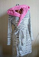 Комплект, махровый халат и ночная из натурального хлопка. , фото 1