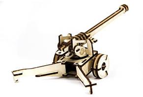 Механический деревянный 3D пазл SUNROZ Пушка 49 эл. (SUN1749), фото 3