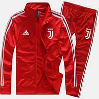 Мужской спортивный костюм Juventus, Ювентус, красный (в стиле)