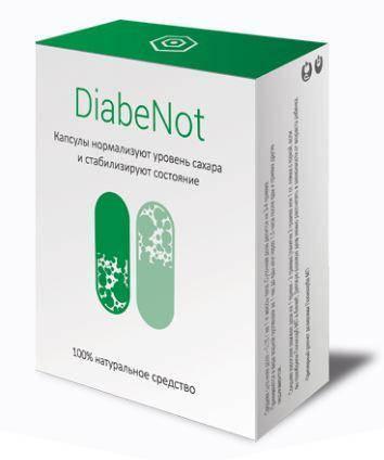 DiabeNot - капсулы от диабета (ДиабеНот), 20 капсул, фото 2